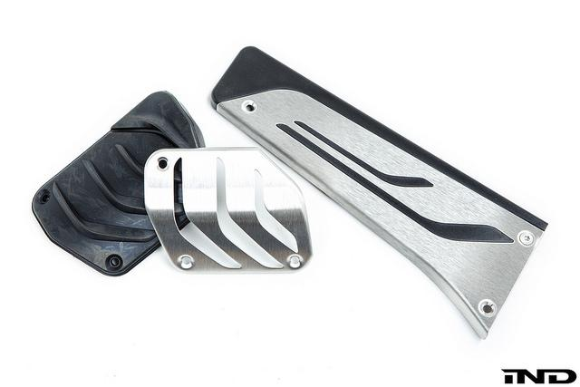 BMW M Performance Stainless Steel Pedal Set - AT - AutoTecknic USA