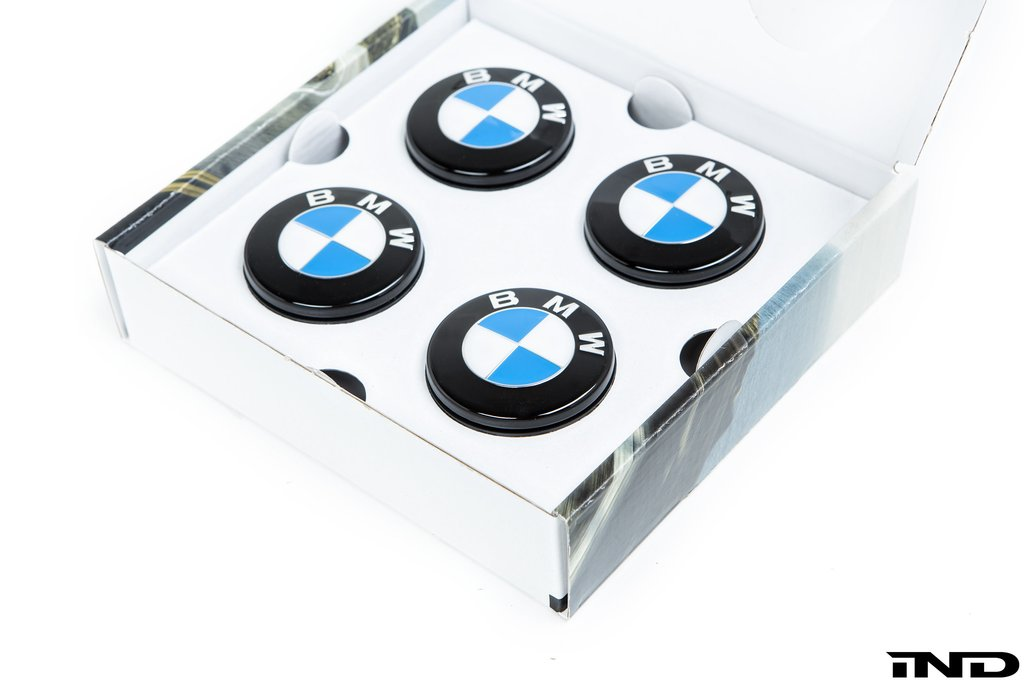 BMW Floating Wheel Center Cap Set - 56mm - AutoTecknic USA