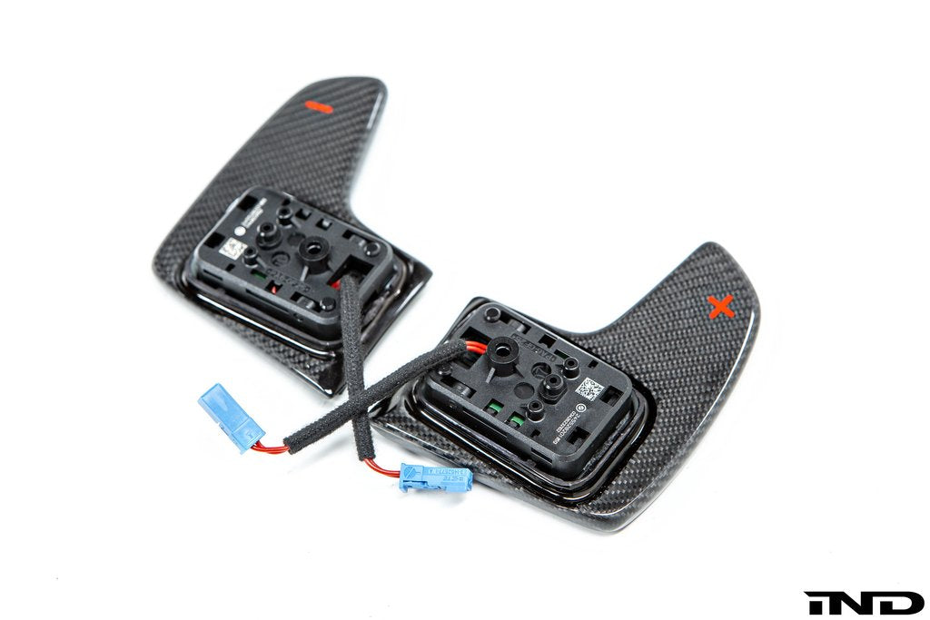 Shop BMW M Performance Carbon Shift Paddle Set - AutoTecknic USA