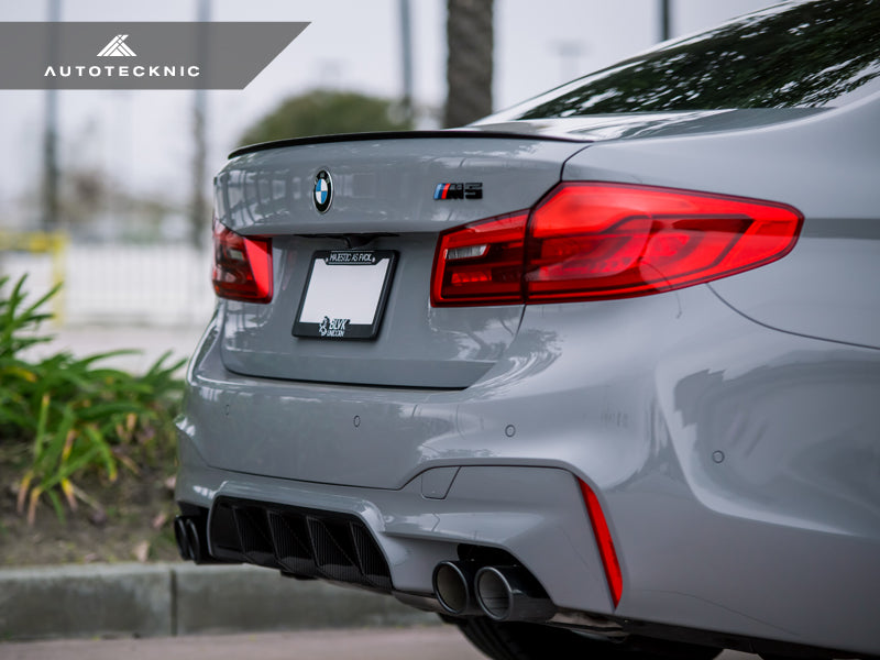 AutoTecknic Dry Carbon Competition Rear Diffuser - F90 M5 - AutoTecknic USA