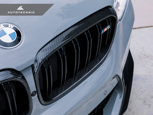 Shop AutoTecknic Replacement Carbon Fiber Front Grilles Surrounds - F90 M5 - AutoTecknic
