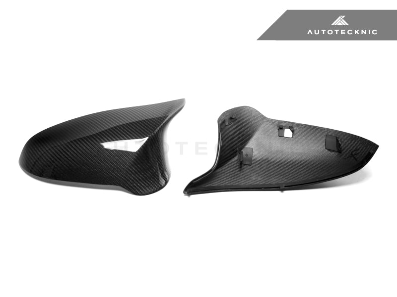AutoTecknic Replacement Version II Dry Carbon Mirror Covers - F87 M2 Competition | F80 M3 | F82/ F83 M4 - AutoTecknic USA