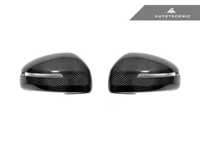 Shop AutoTecknic Replacement Carbon Mirror Covers - Audi 8J MK2 TT/ TTS 07-14 | R8 07-12 - AutoTecknic
