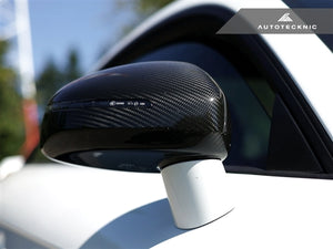 AutoTecknic Replacement Carbon Mirror Covers - Audi 8J MK2 TT/ TTS 07-14 | R8 07-12