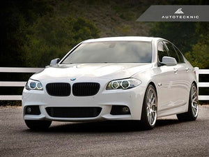 Shop AutoTecknic Stealth Black Front Grilles - F10 Sedan/ F11 Wagon | 5-Series - AutoTecknic