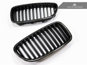 AutoTecknic Replacement Carbon Fiber Front Grilles - F10 Sedan / F11 Wagon | 5 Series