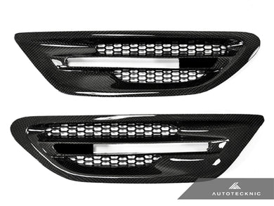 Shop AutoTecknic Replacement Carbon Fiber Fender Vents - F10 Sedan | M5 - AutoTecknic