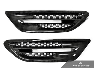 Shop AutoTecknic Replacement Carbon Fiber Fender Vents - F10 Sedan | M5 - AutoTecknic USA
