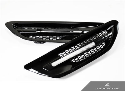 Shop AutoTecknic Replacement Glazing Black Fender Vents - F10 Sedan | M5 - AutoTecknic