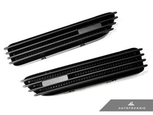 AutoTecknic Replacement Stealth Black Fender Gills - E46 Coupe & Cabrio | M3