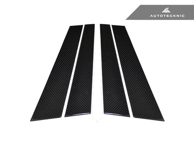 Shop AutoTecknic Carbon Fiber B-Pillar Covers - BMW E34 Sedan - AutoTecknic