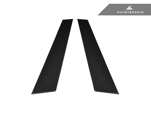 Shop AutoTecknic Carbon Fiber B-Pillar Covers - BMW E36 2Dr Coupe - AutoTecknic