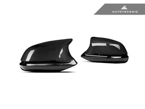 Shop AutoTecknic Version III M-Inspired Complete Dry Carbon Mirror Housing Kit - F22 2-Series | F30 3-Series | F32 4-Series | F87 M2 - AutoTecknic