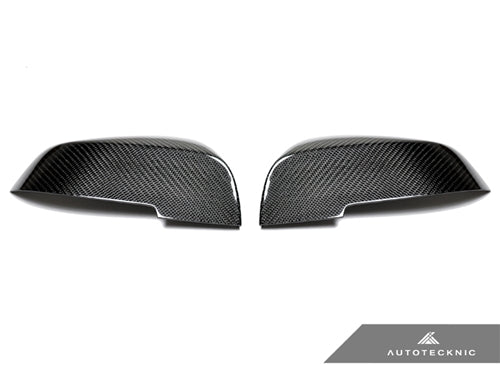 Shop AutoTecknic Replacement Carbon Fiber Mirror Covers - BMW F87 M2 - AutoTecknic USA