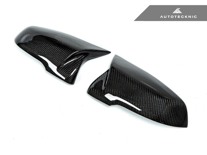 Shop AutoTecknic Replacement M-Inspired Carbon Mirror Covers - F20 1-Series | F22 2-Series | F30 3-Series | F32/ F36 4-Series | F87 M2 - AutoTecknic
