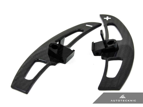 Shop AutoTecknic Carbon Fiber Competition Shift Paddles - E46 M3 SMG - AutoTecknic