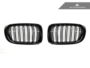 Shop AutoTecknic Replacement Glazing Black Front Grilles - F25 X3 LCI | F26 X4 - AutoTecknic USA