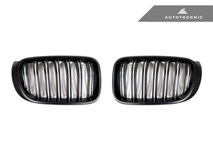 AutoTecknic Replacement Stealth Black Front Grilles - F25 X3 LCI | F26 X4