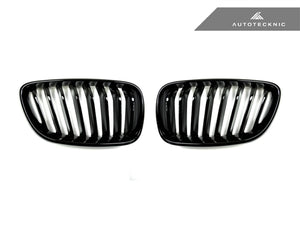 AutoTecknic Replacement Glazing Black Front Grilles - F22 2-Series Coupe