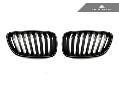 Shop AutoTecknic Stealth Black Front Grilles - F22 2-Series - AutoTecknic USA