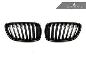 AutoTecknic Replacement Stealth Black Front Grilles - F22 2-Series Coupe