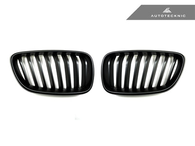 AutoTecknic Stealth Black Front Grilles - F22 2-Series