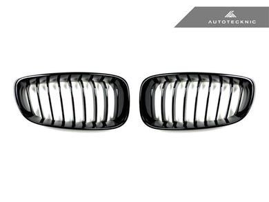 AutoTecknic Replacement Glazing Black Front Grilles - F34 3-Series Gran Turismo