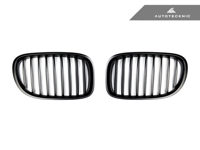 Shop AutoTecknic Replacement Stealth Black Front Grilles - F01/ F02 7-Series LCI - AutoTecknic USA