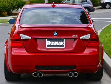 AutoTecknic ABS Trunk Lip Spoiler - BMW E90 3 Series Sedan (2006-2011)