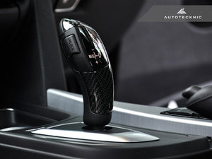 Shop AutoTecknic Carbon Fiber Gear Selector Cover - BMW (Automatic Transmission Equipped Only) - AutoTecknic USA