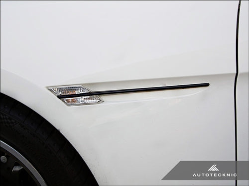 AutoTecknic Replacement Stealth Black Fender Trim - E63 Coupe / E64 Cabrio 6 Series & M6 - AutoTecknic USA