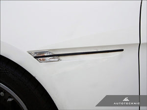 AutoTecknic Replacement Stealth Black Fender Trim - E63 Coupe / E64 Cabrio 6 Series & M6