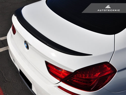 AutoTecknic ABS Trunk Spoiler - BMW F06/ F13 6-Series & M6 (2011-Up) - AutoTecknic USA