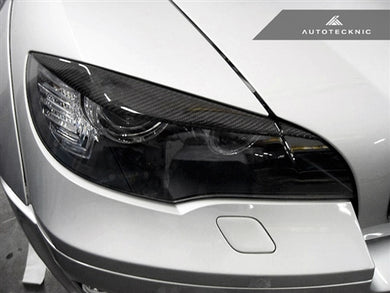 AutoTecknic Carbon Fiber Headlight Covers - E70 X5 / X5M | E71 X6 / X6M