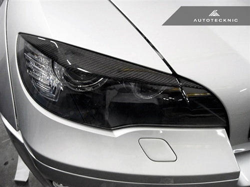 Shop AutoTecknic Carbon Fiber Headlight Covers - E70 X5 / X5M | E71 X6 / X6M - AutoTecknic
