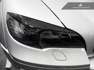 Shop AutoTecknic Carbon Fiber Headlight Covers - E70 X5 / X5M | E71 X6 / X6M - AutoTecknic USA