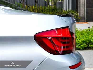 Shop AutoTecknic Vacuumed Carbon Fiber Performante Trunk  Spoiler - F10 5-Series Sedan (2011-Up) - AutoTecknic USA