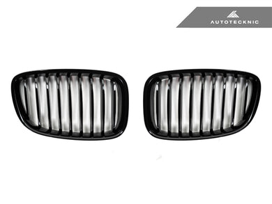 AutoTecknic Replacement Glazing Black Front Grilles - F07 5-Series Gran Turismo