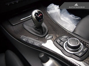 Shop AutoTecknic Replacement Carbon Fiber Interior Center Console - E90 M3 | E92 M3 - AutoTecknic USA