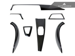 AutoTecknic Dry Carbon Fiber Interior Trim - F32 4-Series Coupe