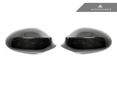 Shop AutoTecknic Dry Carbon Fiber Mirror Covers - BMW E82 Coupe / E87 Wagon (Pre-Facelift) / E88 Cabrio | 1 Series - AutoTecknic
