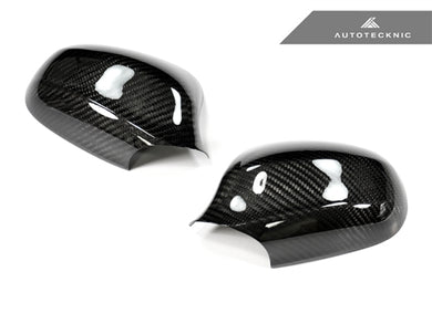 Shop AutoTecknic Dry Carbon Fiber Mirror Covers - BMW E90 3-Series Sedan LCI (09-Up Facelift) - AutoTecknic