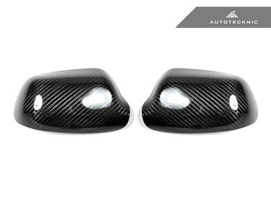 AutoTecknic Dry Carbon Fiber Mirror Covers - Mazda 3