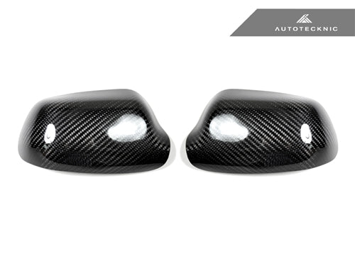 Shop AutoTecknic Dry Carbon Fiber Mirror Covers - Mazda 3 - AutoTecknic