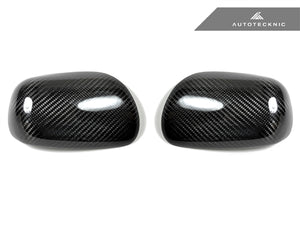 AutoTecknic Dry Carbon Fiber Mirror Covers - Lexus IS200/ IS300