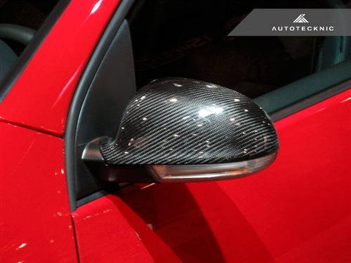 AutoTecknic Dry Carbon Fiber Mirror Covers - VW MKV JETTA/ GOLF