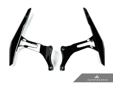 AutoTecknic Glazing Black Competition Shift Paddles - Ferrari 458 Italia / Spider