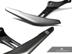 AutoTecknic Stealth Carbon Competition Shift Paddles - Ferrari 458 Italia / Spider