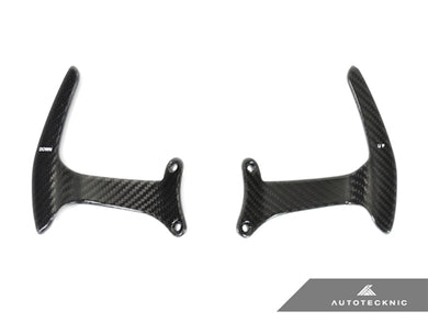 Shop AutoTecknic Carbon Competition Shift Paddles - Ferrari 488 GTB - AutoTecknic USA