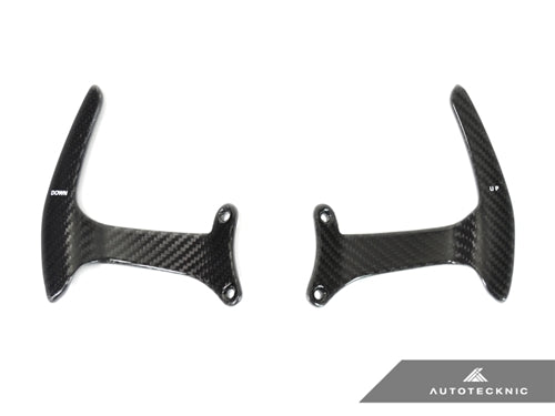 Shop AutoTecknic Carbon Competition Shift Paddles - Ferrari 488 GTB - AutoTecknic